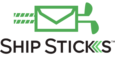Ship Sticks Logo Black Text